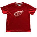 Detroit Red Wings Toddler Logo T-Shirt by Mighty Mac