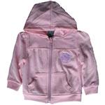 Edmonton Oilers Toddler Girls Pink Full-Zip Fleece Hoodie by Mighty Mac