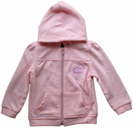 Montreal Canadiens Toddler Girls Pink Full-Zip Fleece Hoodie by Mighty Mac