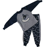 Vancouver Canucks Toddler My Team Pyjamas by Mighty Mac