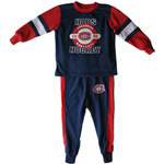 Montreal Canadiens Toddler Glow In The Dark Pyjamas by Mighty Mac
