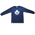 Toronto Maple Leafs Youth Basic Logo Long Sleeve T-Shirt by Mighty Mac