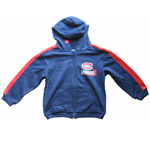 Montreal Canadiens Child Cut & Sew Full Zip Hoodie by Mighty Mac