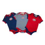 Montreal Canadiens Newborn 3-Piece Creeper Set by Mighty Mac