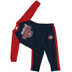 Montreal Canadiens Toddler Long Sleeve T-Shirt & Pant Set by Mighty Mac