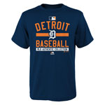 Detroit Tigers Youth Authentic Collection Team Property T-Shirt by Majestic