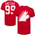 Wayne Gretzky Team Canada Vintage Name & Number T-Shirt by '47