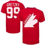 Wayne Gretzky Team Canada Vintage Name & Number T-Shirt by '47