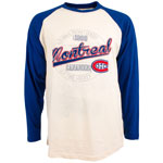 Montreal Canadiens Avoca Long Sleeve Raglan T-Shirt by Old Time Hockey