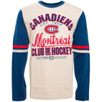 Montreal Canadiens Chisel Long Sleeve T-Shirt by Old Time Hockey
