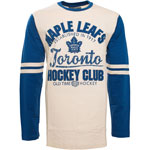 Toronto Maple Leafs Chisel Long Sleeve T-Shirt by Old Time Hockey