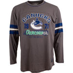 Vancouver Canucks Yutan Long Sleeve T-Shirt by Old Time Hockey