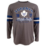 Toronto Maple Leafs Yutan Long Sleeve T-Shirt by Old Time Hockey