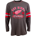 Detroit Red Wings Yutan Long Sleeve T-Shirt by Old Time Hockey