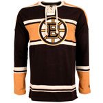 Boston Bruins Wisner Long Sleeve Jersey T-Shirt by Old Time Hockey