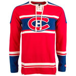 Montreal Canadiens Wisner Long Sleeve Jersey T-Shirt by Old Time Hockey