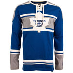 Toronto Maple Leafs Wisner Long Sleeve Jersey T-Shirt by Old Time Hockey