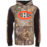 Montreal Canadiens Realtree Camo Decoy Pullover Fleece Hoodie by Old Time Hockey