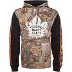 Toronto Maple Leafs Realtree Camo Decoy Pullover Fleece Hoodie by Old Time Hockey