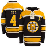 Bobby Orr Boston Bruins Lacer Pullover Fleece Hoodie by '47