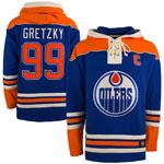Wayne Gretzky Edmonton Oilers Lacer Pullover Fleece Hoodie by '47