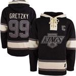 Wayne Gretzky Los Angeles Kings Lacer Pullover Fleece Hoodie by '47