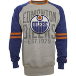 Edmonton Oilers Cruise Long Sleeve T-Shirt by Old Time Hockey