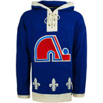 Quebec Nordiques Lacer Pullover Fleece Hoodie by '47