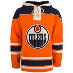 Edmonton Oilers Lacer Pullover Fleece Hoodie by '47