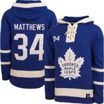 Auston Matthews Toronto Maple Leafs Lacer Pullover Fleece Hoodie by '47