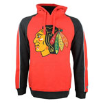 Chicago Blackhawks Merciless Pullover Fleece Hoodie by Old Time Hockey