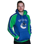 Vancouver Canucks Merciless Pullover Fleece Hoodie by Old Time Hockey