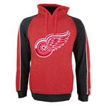 Detroit Red Wings Merciless Pullover Fleece Hoodie by Old Time Hockey