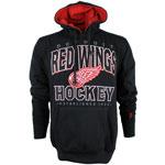 Detroit Red Wings Blackops Pullover Fleece Hoodie by Old Time Hockey