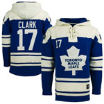 Wendel Clark Toronto Maple Leafs Lacer Pullover Fleece Hoodie by '47
