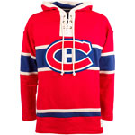 Montreal Canadiens Lacer Heavyweight Pullover Hoodie by Old Time Hockey