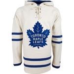 Toronto Maple Leafs Vintage Lacer Heavyweight Pullover Hoodie by Old Time Hockey