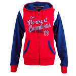 Montreal Canadiens Women's Ascona Full Zip Fleece Hoodie by Old Time Hockey