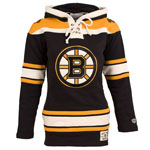 Boston Bruins Women's Lacer Heavyweight Pullover Hoodie by Old Time Hockey