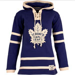 Toronto Maple Leafs Women's Lacer Heavyweight Pullover Hoodie by Old Time Hockey