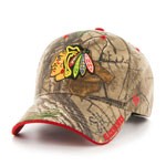 Chicago Blackhawks Realtree Frost MVP Adjustable Hat by '47