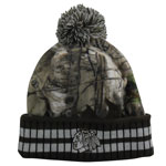 Chicago Blackhawks Realtree Camo Eton Cuffed Knit Hat by Old Time Hockey