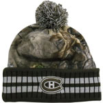 Montreal Canadiens Realtree Camo Eton Cuffed Knit Hat by Old Time Hockey