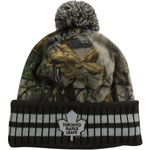 Toronto Maple Leafs Realtree Camo Eton Cuffed Knit Hat by Old Time Hockey