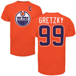 Wayne Gretzky Edmonton Oilers Alumni Player Name & Number T-Shirt - Orange by '47