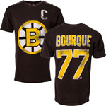 Ray Bourque Boston Bruins Alumni Player Name & Number T-Shirt by Old Time Hockey