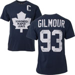 Doug Gilmour Toronto Maple Leafs Alumni Player Name & Number T-Shirt by Old Time Hockey