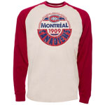 Montreal Canadiens Spheric Long Sleeve T-Shirt by Old Time Hockey