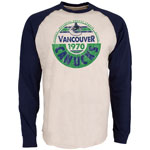 Vancouver Canucks Spheric Long Sleeve T-Shirt by Old Time Hockey