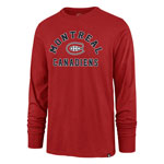 Montreal Canadiens Varsity Arch Super Rival Long Sleeve T-Shirt by '47